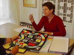 Carol Leish demonstrates Call Me Capable Game